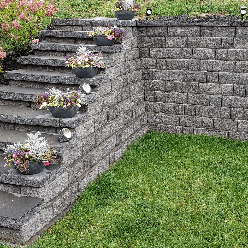 Highland Retaining Wall